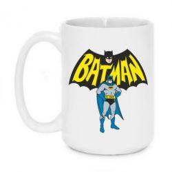 Кружка 420ml Batman Hero - FatLine