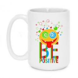 Кружка 420ml Be positive - FatLine