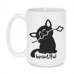 Кружка 420ml Beautiful Cat - FatLine