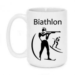 Кружка 420ml Biathlon
