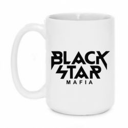 Кружка 420ml Black Star Mafia