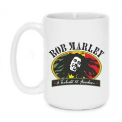 Кружка 420ml Bob Marley A Tribute To Freedom - FatLine
