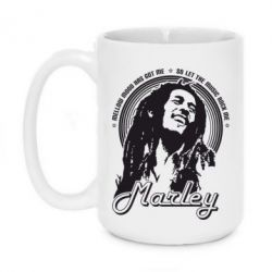 Кружка 420ml Bob Marley - FatLine