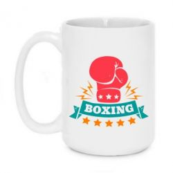 Кружка 420ml Boxing Logo - FatLine