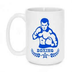 Кружка 420ml Boxing Star - FatLine