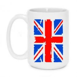 Кружка 420ml Британский флаг - FatLine