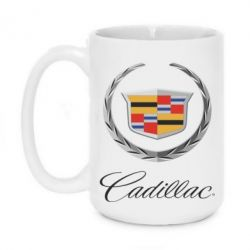 Кружка 420ml Cadillac Logo - FatLine