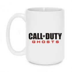 Кружка 420ml Call of Duty Ghosts Logo - FatLine