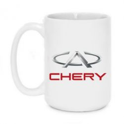 Кружка 420ml Chery Logo - FatLine
