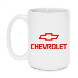 Кружка 420ml Chevrolet Small - FatLine