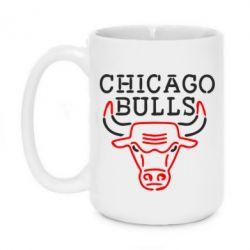 Кружка 420ml Chicago Bulls Logo - FatLine
