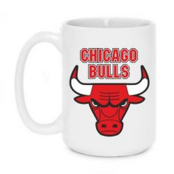 Кружка 420ml Chicago Bulls vol.2 - FatLine