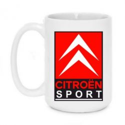 Кружка 420ml Citroen Sport - FatLine