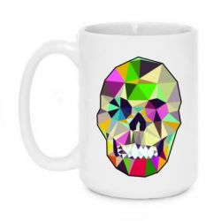Кружка 420ml Colorful Skull - FatLine