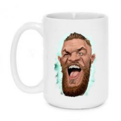 Кружка 420ml Conor McGregor Art - FatLine