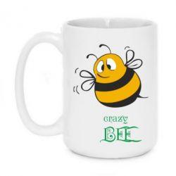 Кружка 420ml Crazy Bee - FatLine