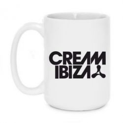 Кружка 420ml Cream Ibiza - FatLine