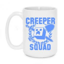 Кружка 420ml Creeper Squad
