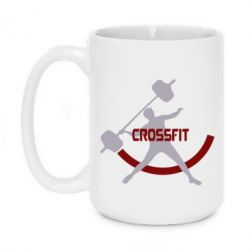 Кружка 420ml CrossFit Logo - FatLine