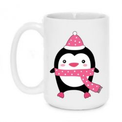 Кружка 420ml Cute Christmas penguin - FatLine