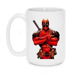 Кружка 420ml Deadpool Comics