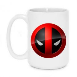Кружка 420ml Deadpool Logo - FatLine