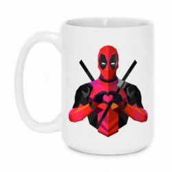 Кружка 420ml Deadpool Love