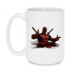 Кружка 420ml Deadpool Paint