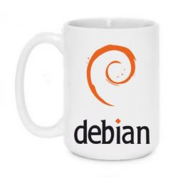 Кружка 420ml Debian - FatLine