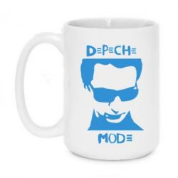 Кружка 420ml Depeche mode Face