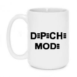 Кружка 420ml Depeche Mode Logo - FatLine