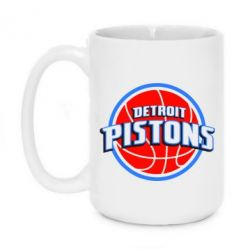 Кружка 420ml Detroit Pistons Logo