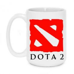 Кружка 420ml Dota 2 Big Logo - FatLine