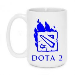 Кружка 420ml Dota 2 Fire - FatLine