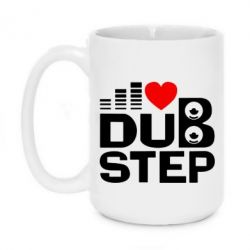 Кружка 420ml Dub Step Ритм - FatLine