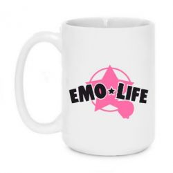 Кружка 420ml Emo life - FatLine