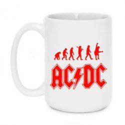 Кружка 420ml Эволюция AC\DC