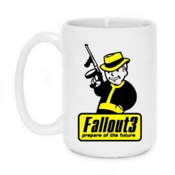 Кружка 420ml Fallout 3 Logo - FatLine