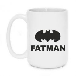 Кружка 420ml Fatman
