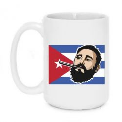 Кружка 420ml Fidel Castro Art - FatLine
