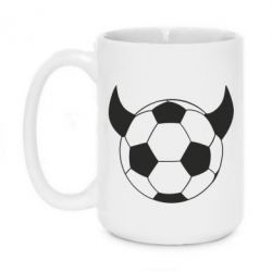 Кружка 420ml Football Devil