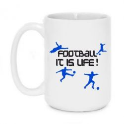 Кружка 420ml Football is my life - FatLine