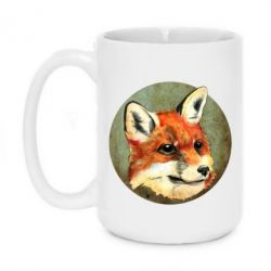 Кружка 420ml Fox Art - FatLine