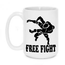 Кружка 420ml Free Fight