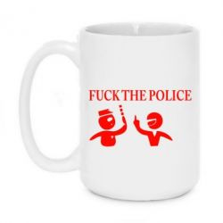 Кружка 420ml Fuck the Police - FatLine