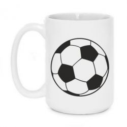 Кружка 420ml Футбольный мяч - FatLine