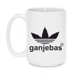Кружка 420ml Ganjubas - FatLine