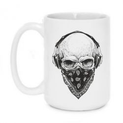 Кружка 420ml Gansta Skull - FatLine