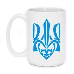 Кружка 420ml Гарний герб України - FatLine
