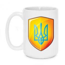 Кружка 420ml Герб на щиті - FatLine